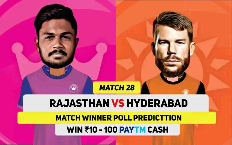 IPL 2021: Match 28, RR vs SRH Match Prediction Poll – Who Is Win Today's Match?